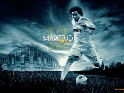 klub sepak bola, real madrid, real madrid wallpaper, 1024x768 pixel, download wallpaper real madrid, real madrid jpg, Marcelo